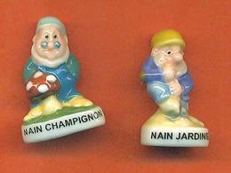 Lot De 2 Feves De La Serie Les Nains De Jardin 2014 - Characters