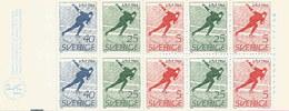 Schweden 1966: Nr. MH10 II (H-Blatt 35) WM Eisschnelllauf #H1 - 1951-80