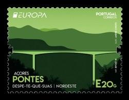 Portugal (Azores) 2018 Mih. 630 Europa-Cept. Bridges MNH ** - Azores