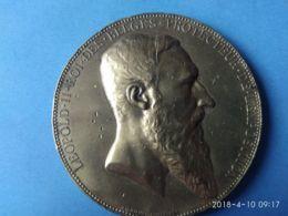 Leopoldo 2° Re Del Belgio Esposizione Universale Anversa 1885 - Monarchia / Nobiltà