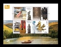 Portugal 2018 Mih. 4389/90 (Bl.431) European Year Of Cultural Heritage. Ship. Tram. Music MNH ** - 1910-... Republic