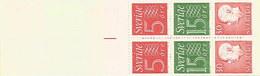 Schweden 1966: Nr. MH11a (H-Blatt 36) Ziffer/König Gustav VI. Adolf #H1 - Carnets