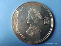Giubileo D'argento 1952-1977 The Tower Of London - Monarchia/ Nobiltà