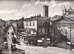 Albenga - Via Genova, Porta Mulino - Savona