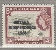 BRITISH GUIANA 1966  Overprinted MNH (**)  Mi 141 SG 380  #23354 - Guyana (1966-...)
