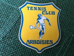 Autocollant Tennis Club Arboisien - Stickers
