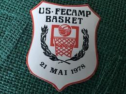 Autocollant US Fecamp Basket - Stickers