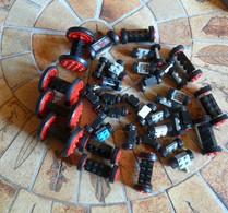 LEGO 56 Roues Différentes Formats Et Couleurs - Lego System