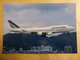 AIR FRANCE  B 747 400   F GISB - 1946-....: Era Moderna