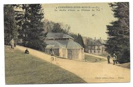 CARRIERES SOUS BOIS - Le Jardin D'Hiver Au Château Du Val ( Carte Toilée ) - France