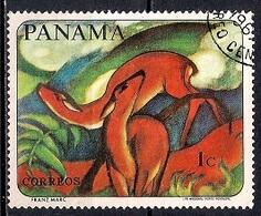 Panama 1967 - Wild Animals - Paintings - Panamá