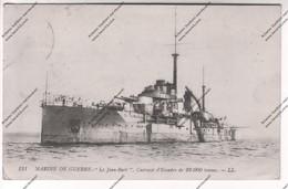CPA MARINE DE GUERRE - Le Jean-Bart Cuirassé D'Escadre De 23.000 Tonnes - Guerra