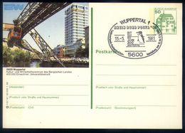 B22 - Germany - Stationery 1980 - Wuppertal - Eisenbahnen