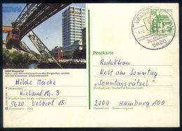 B22 - Germany - Stationery 1982 - Wuppertal - Eisenbahnen
