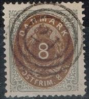Danemark - 1870 - Y&T N° 19, Oblitéré - 1864-04 (Christian IX)
