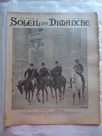 LE SOLEIL DU DIMANCHE  N° 13 Du 30/3/1902 LES ORGANISATEURS DU CONCOURS HIPPIQUE DE 1902 - LES TONDEURS DE CHIENS - Newspapers