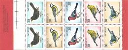 Schweden 1970: Nr. MH27 (H-Blatt 54) Überwinternde Vögel #H3 - 1951-80