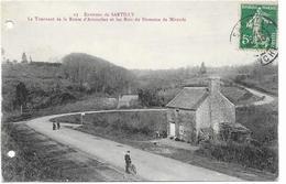 Environs De Sartilly Le Tournant Et La Route D'avranches Et Les Bois Du Domaine De Mirande - Other Municipalities