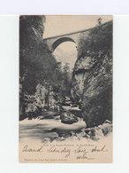 Sur Carte Postale Type Blanc 5 C. Vert CAD Hexagonal Grenoble 1902. CAD Vernoux D'Ardèche. (857) - Marcophilie (Lettres)