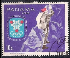 Panama 1968 - Winter Olympic Games - Grenoble, France - Panamá