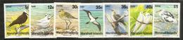 Oiseaux De Mer Des îles Marshall, Série De 7 Timbres Neufs ** - Marshall