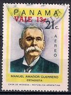 Panama 1974 - Airmail - Overprinted - Panamá
