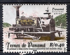 Panamá 2002 - Airmail - First Transcontinental Railway - Panamá