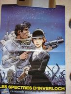 Grande Affiche Pour Le Festival De La BD D'ANGOULEME 1984 Sortie Album VALERIAN Les Spectres D'inverloch - Livres, BD, Revues