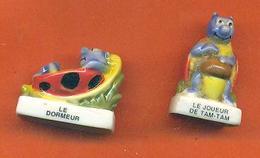 Lot De 2 Feves De La Serie Les Coccinelles 2 2005 - Animals