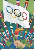 JEUX OLYMPIQUES 1894 1994 - CENTENAIRE CIO - COMITE OLYMPIQUE INTERNATIONAL - Olympische Spelen