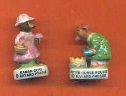 Lot De 2 Feves De La Serie Petits Ours 2012 - Animals