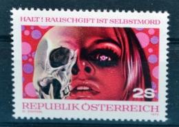 #b001 Rauschgift, Drogen, Drugs, Drogue, Droga, Totenkopf, Skull, AT 1973 ** - Drogue