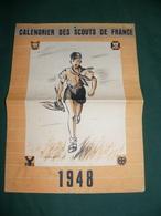 CALENDRIER DES SCOUTS DE FRANCE 1948 - Scoutisme