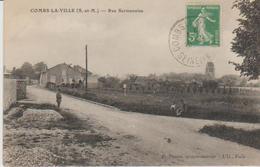 """77 ( Combs La Ville  """".:la Rue Sermonoise.""""  ) - Combs La Ville"""