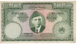 PAKISTAN  100 Rupees   P18a   ( ND 1957 ) - Pakistan