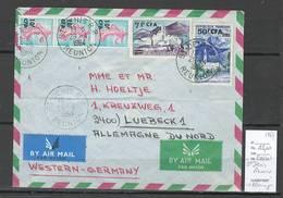 Reunion - Lettre Saint Denis Pour Lubeck - Allemagne - 1964 - Reunion Island (1852-1975)