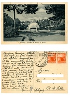 GENOVA GIARDINI DI PIAZZA VERDI VIAGGIATA 1948 (3/31) - Genova (Genoa)
