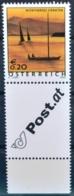 #b045 Schönes Österreich - Wörthersee Kärnten, Boot, Bogenrand Alonge, AT 2003** - 1945-.... 2ème République