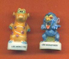 Lot De 2 Feves De La Serie Les Monstres 1998 - Animals