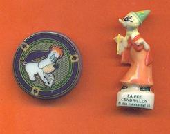 Lot De 2 Feves De La Serie Tex Avery 1998 - Cartoons
