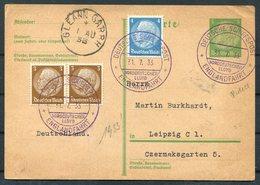 1933 North German Line Ship Stationery Postcard, Deutsche Schiffspost NDL Englandfahrt. Gleann Garbh, Cork Ireland - Briefe U. Dokumente