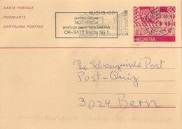 Tax PK 212  Buchs SG - Bern          2002 - Interi Postali