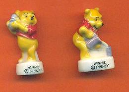 Lot De 2 Feves De La Serie Winnie L'ourson Et Ses Amis 2007 - Disney
