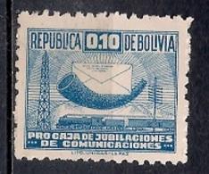 Bolivia - Pro Cajas Jubilaciones De Comunicaciones - Bolivia