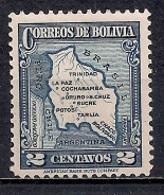 Bolivia 1935 - Map Of Bolivia - Bolivia