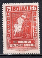 Bolivia 1939 - Airmail Stamps - The Second National Eucharistic Congress - Bolivia
