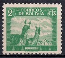 Bolivia 1939 - Animals - Bolivia