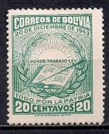 Bolivia 1944 - Revolution Of 20th December - Bolivia