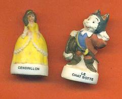 Lot De 2 Feves De La Serie Contes De Notre Enfance 2007 - Mat - Disney