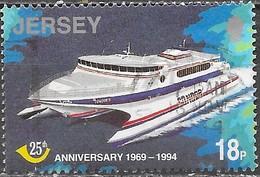 Jersey - Y&T N° 663 - Oblitéré - Jersey